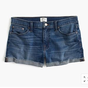 Jcrew denim shorts size 30
